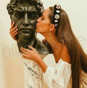 RARE! Zara LIMITED EDITION Jeweled Headband